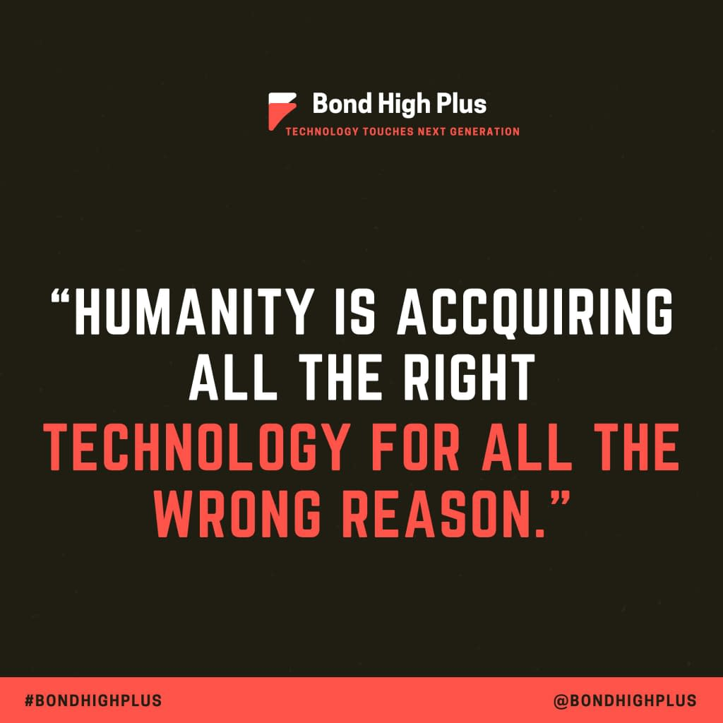 Humanity is acquiring all the right technology for all the wrong reasons. - Buckminster Fuller