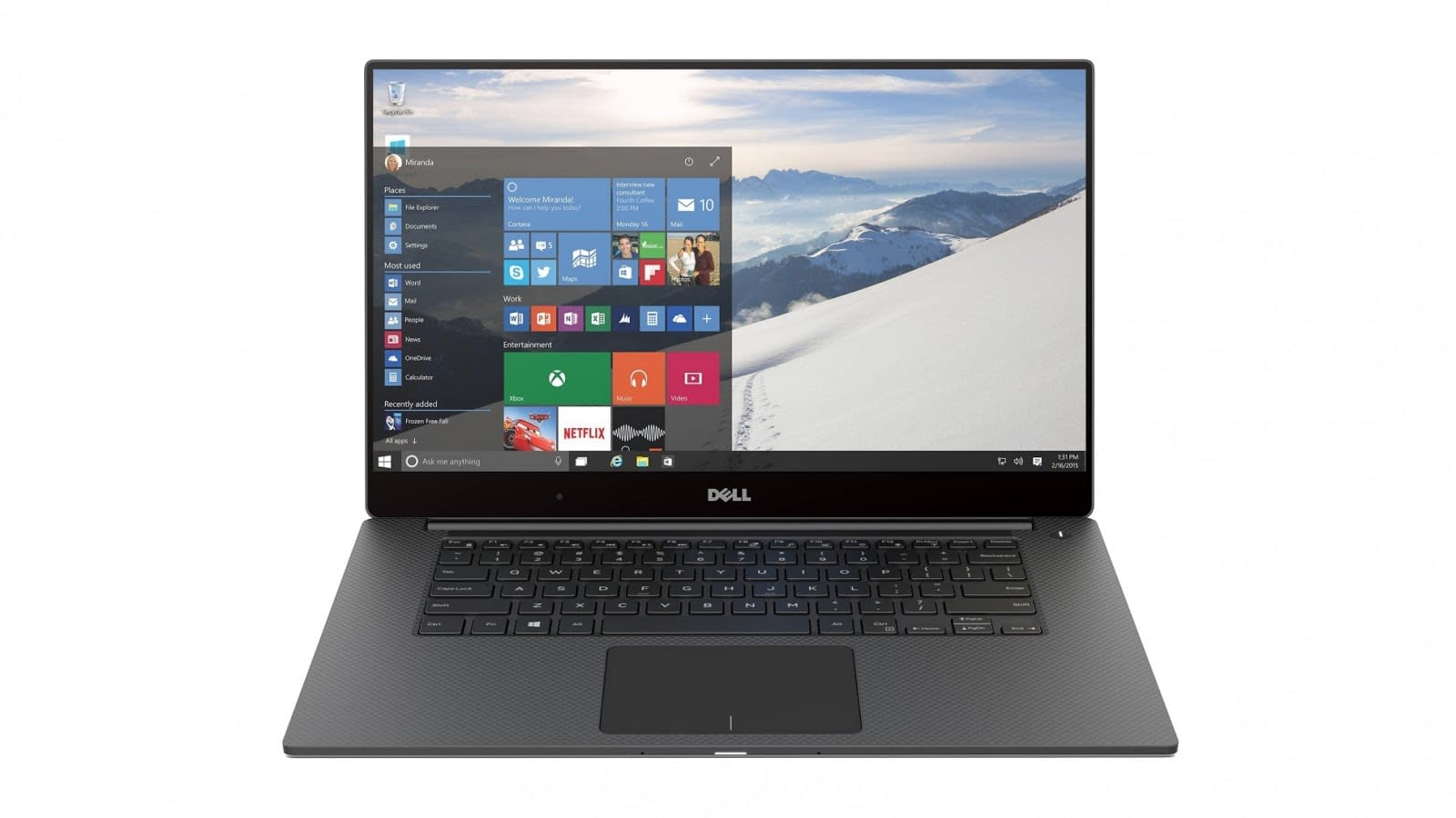 Dell XPS 15 Front