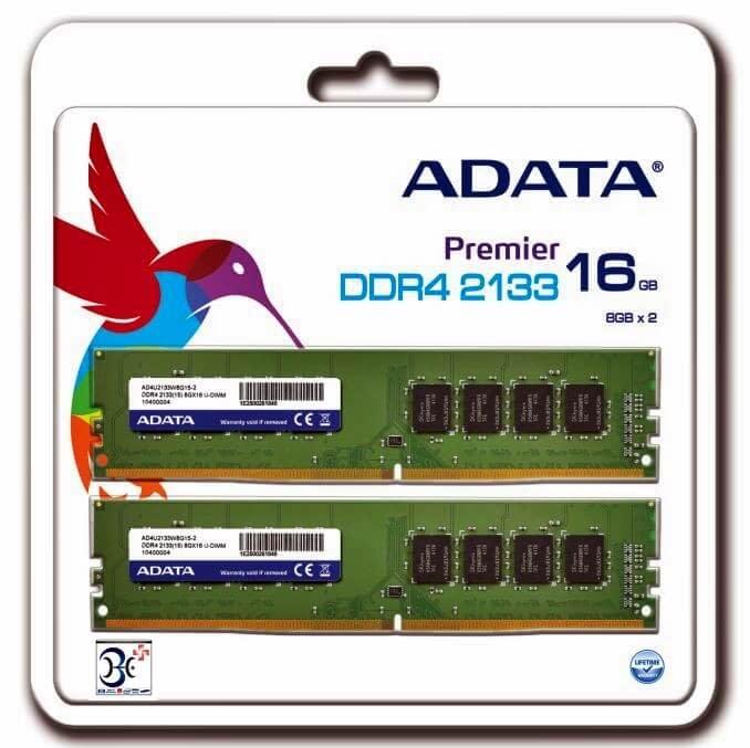 ADATA Launches Premier DDR4