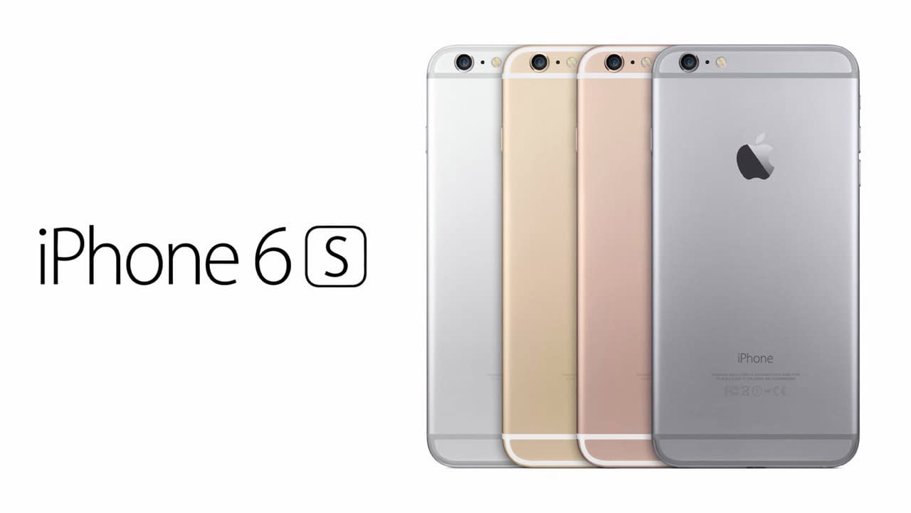 Apple iPhone 6s Back Look