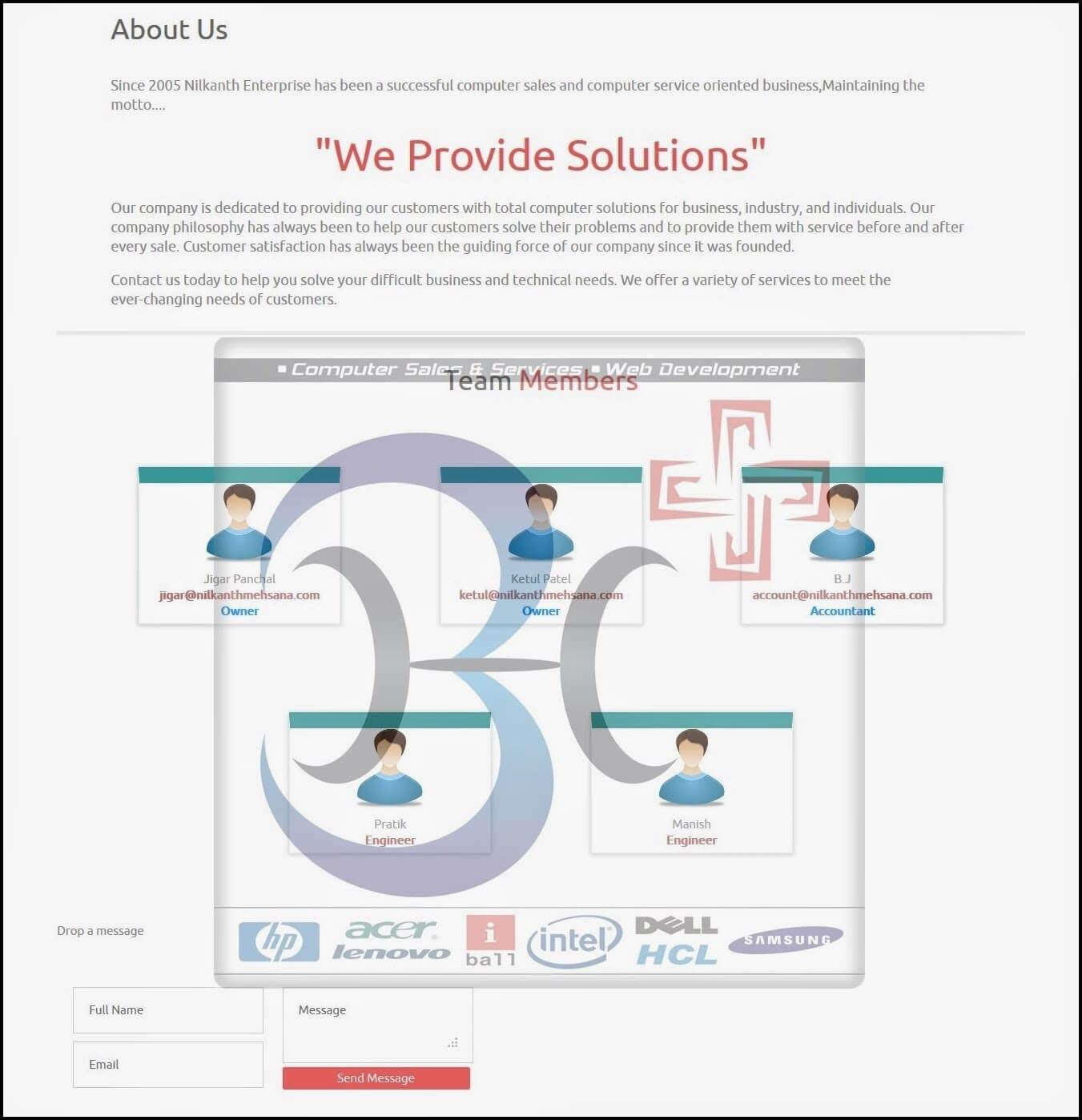 Website Design inMehsana