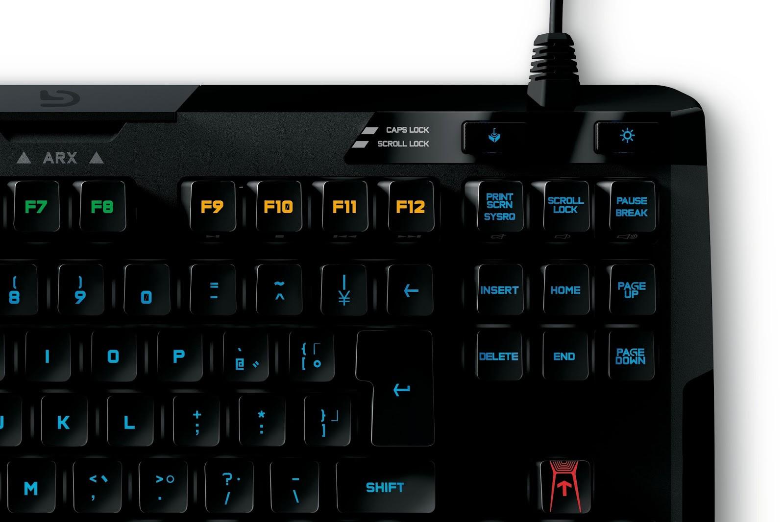 Logitech G410 Mechanical keyboard Closer look