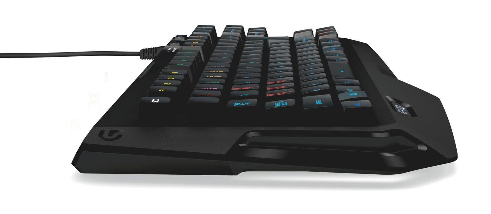 Logitech G410 Mechanical keyboard Side look
