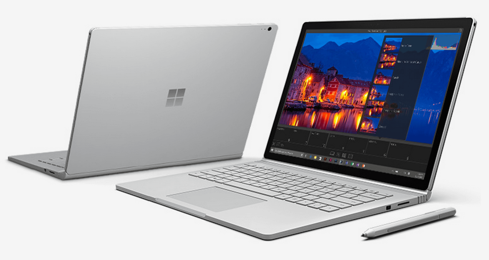Microsoft surface book front
