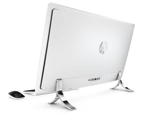 HP Envy Curved All-In-One Back look