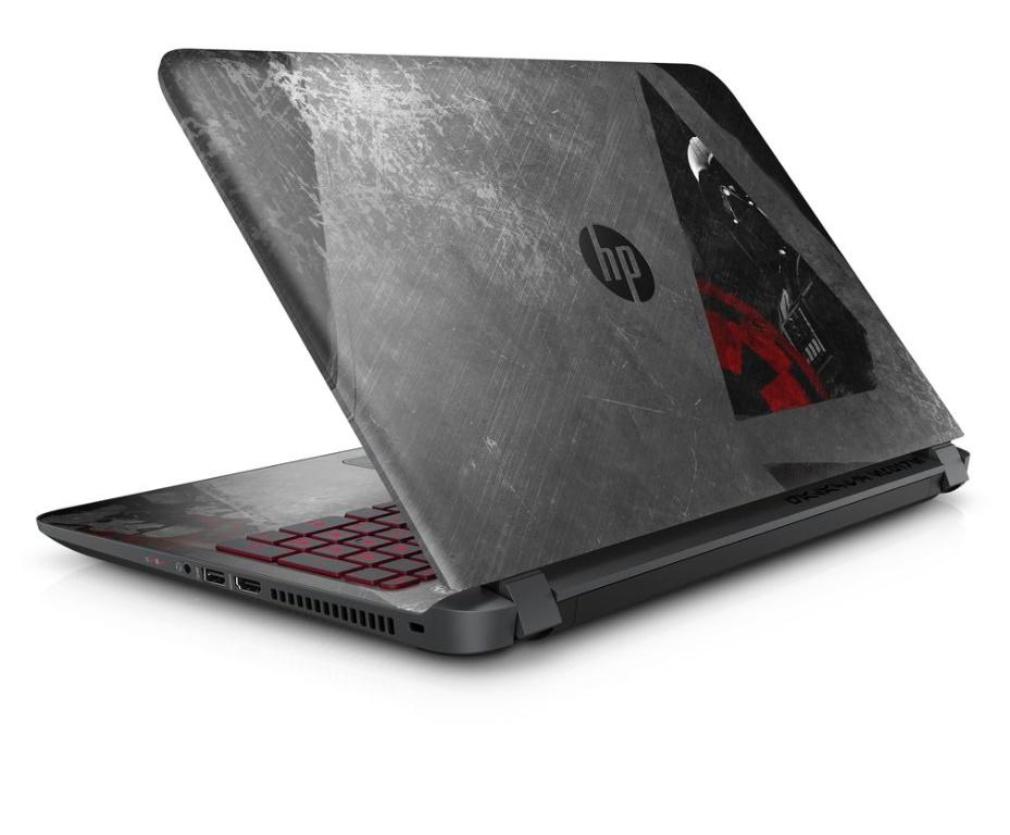 HP Star Wars laptop Back